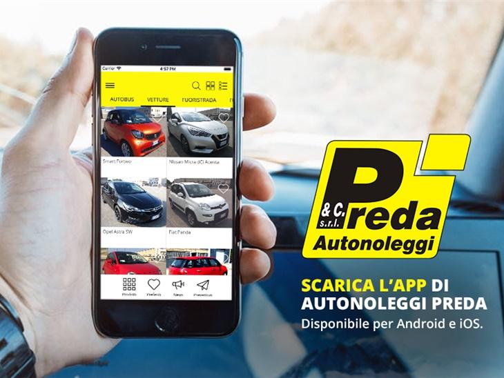 Scarica l'app di Preda Autonoleggi