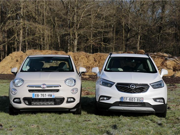Nuovi SUV 4X4 In Arrivo - Fiat 500 X & Opel Mokka