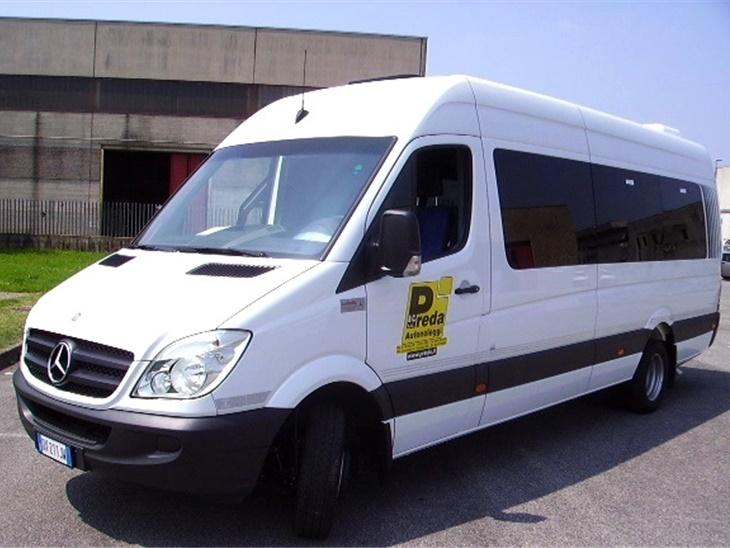 Autobus 19 posti Mercedes Sprinter + nostro autista